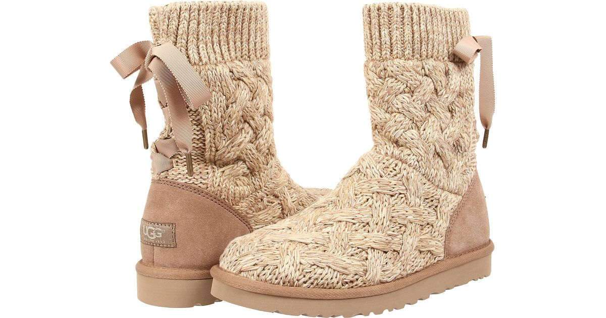 ad9e921503a top quality isla knit ugg boots 28a8d baac6