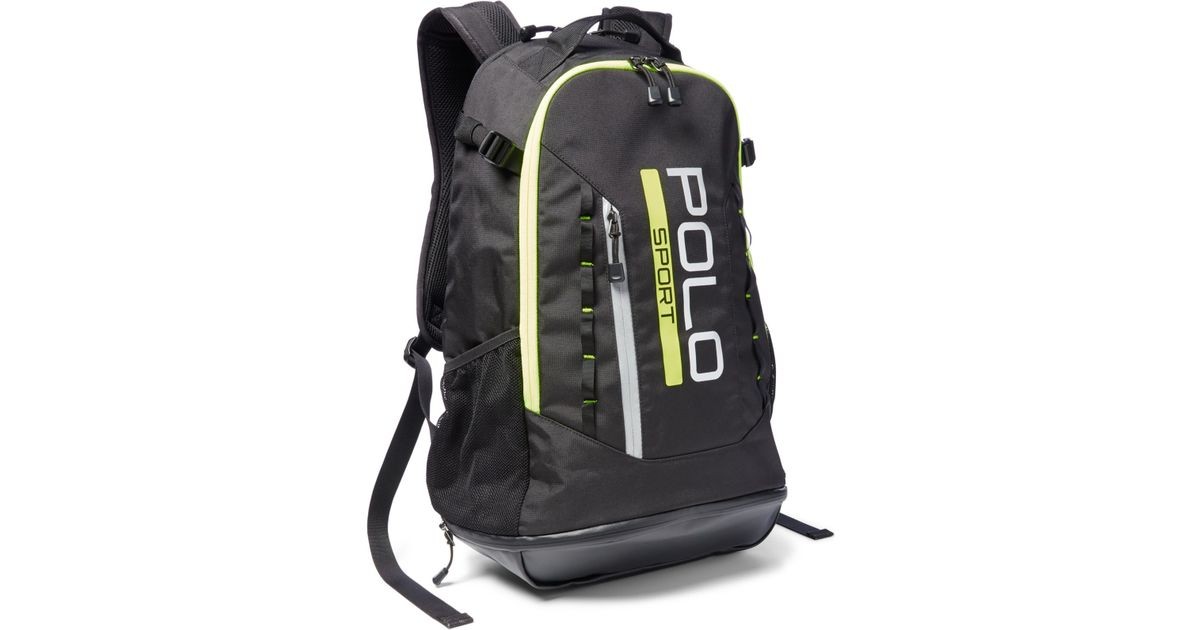 Polo ralph lauren Polo Sport Backpack in Black for Men | Lyst