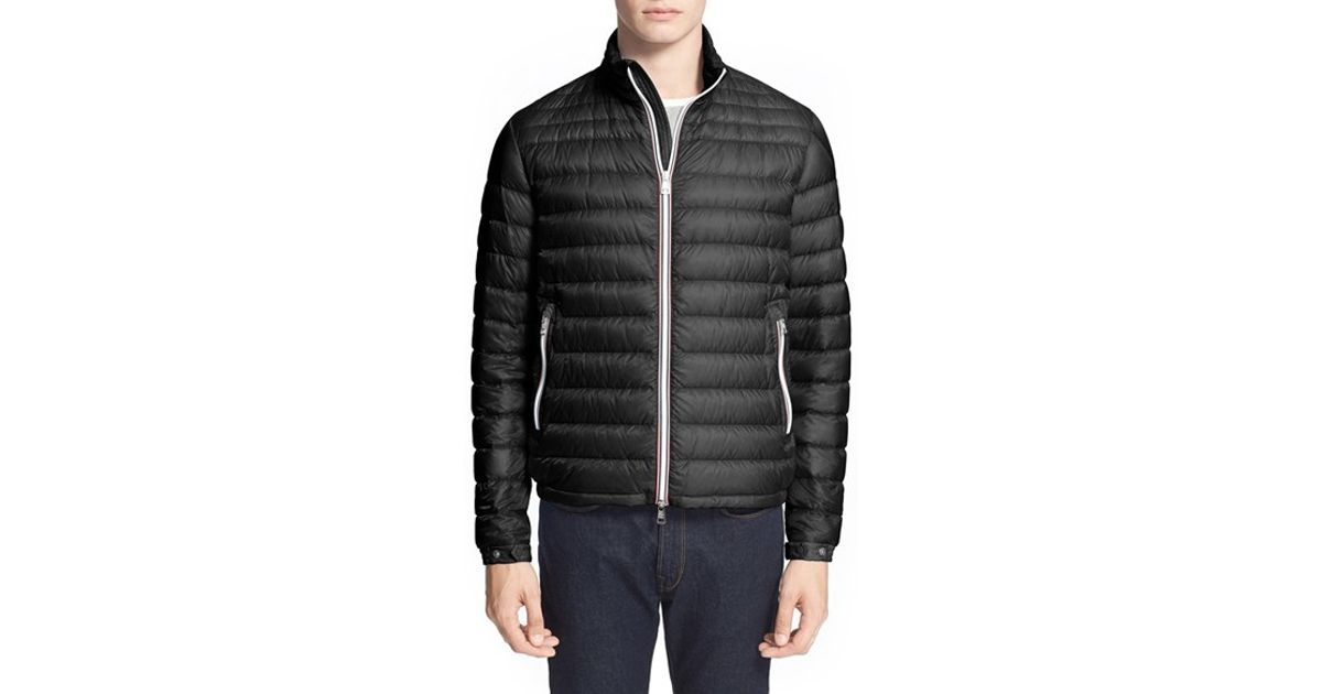 78ca1baf49dd Lyst - Moncler  daniel  Channel Quilted Down Jacket in Black for Men