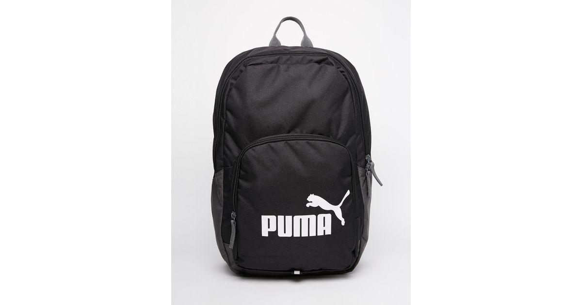 Lyst - PUMA Phase Backpack in Black for Men 9cbd07b772d52