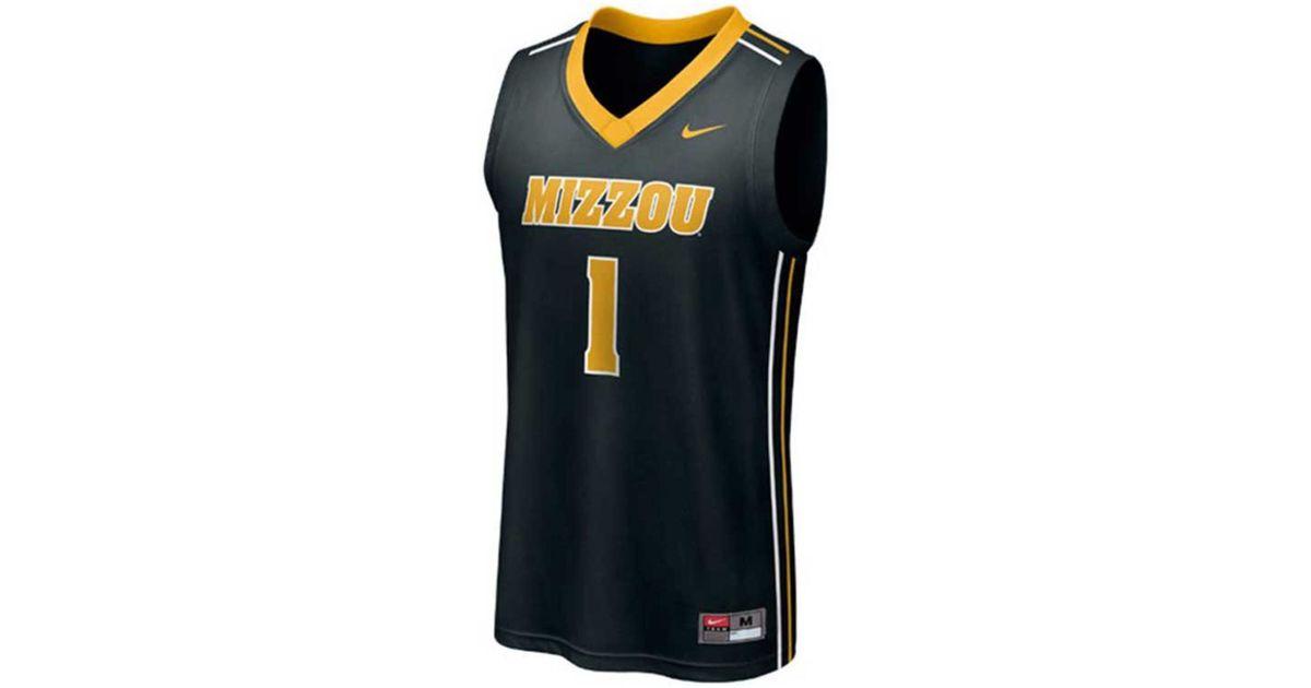 sports shoes f5f0f 42e34 Nike - Black Men's Missouri Tigers Replica Basketball Jersey for Men - Lyst