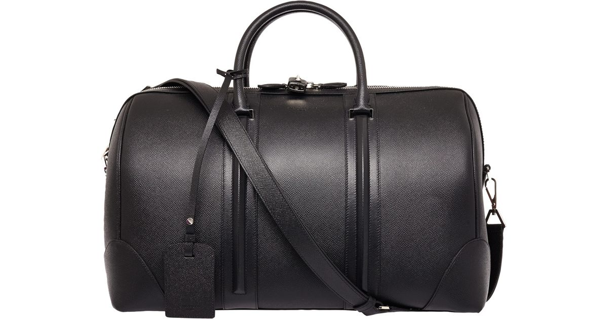 19aeb28fb02 Givenchy Black Leather Gym Bag in Black for Men - Lyst