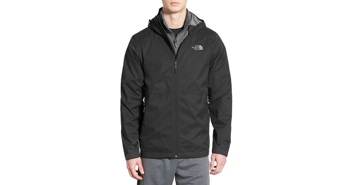 e32d44315 Lyst - The North Face  arrowood  Triclimate 3-in-1 Jacket in Black ...