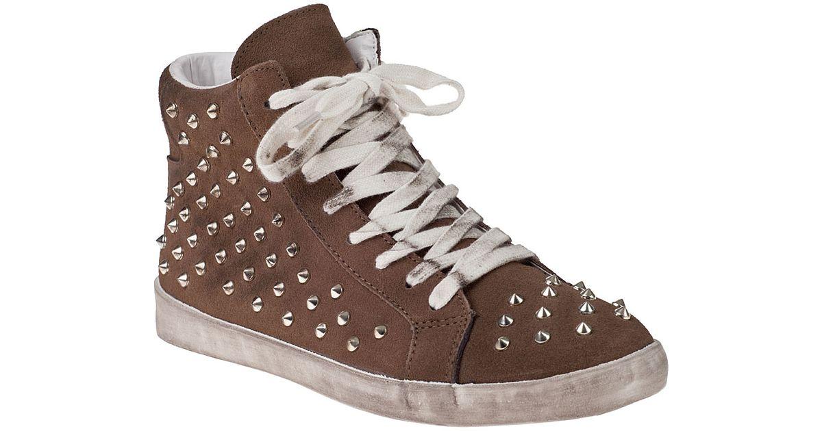 Shoes Brown Studded Trainer Steve Twynkle Madden Sm tQrsdhxCB