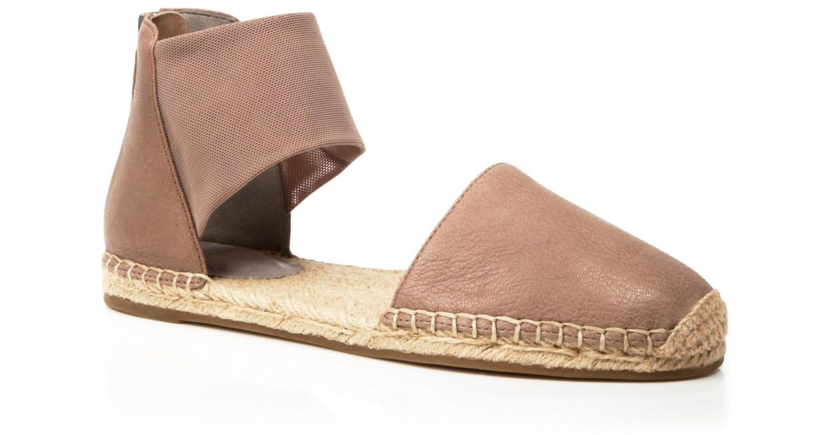 e7304ea2863f8 Lyst - Eileen Fisher Flat Espadrille Sandals - Coy in Brown