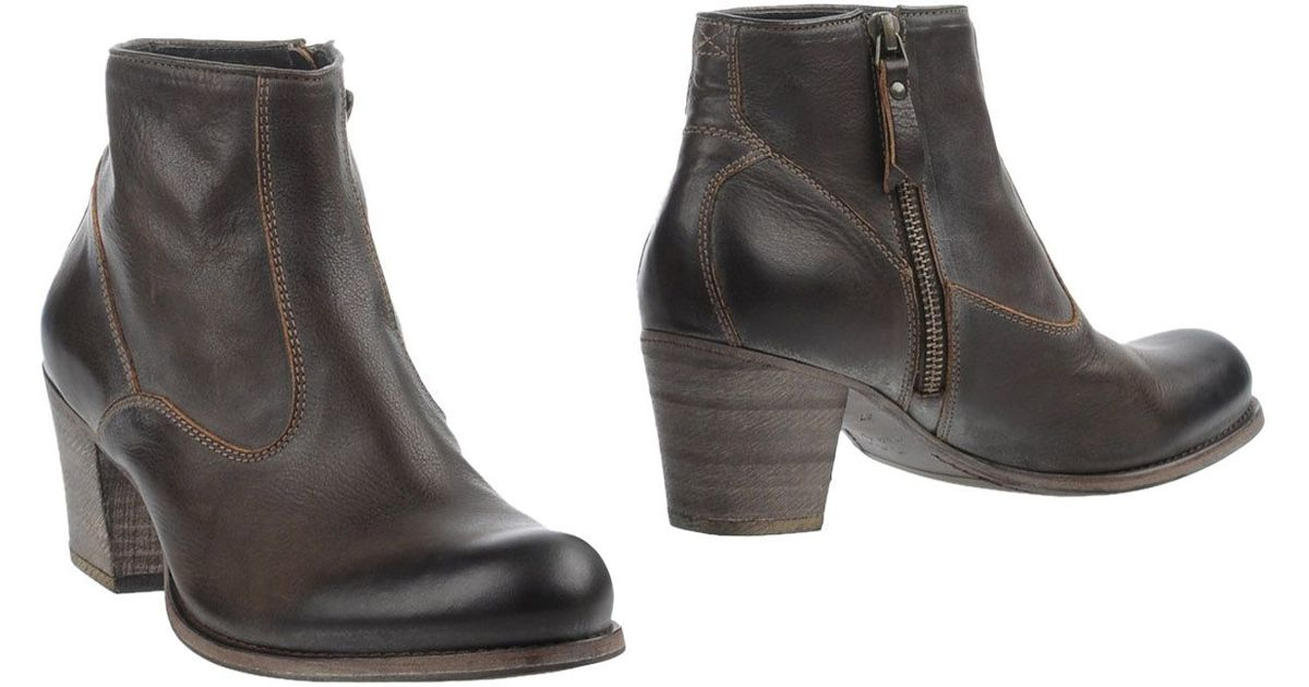 ndc ankle boots in brown lyst