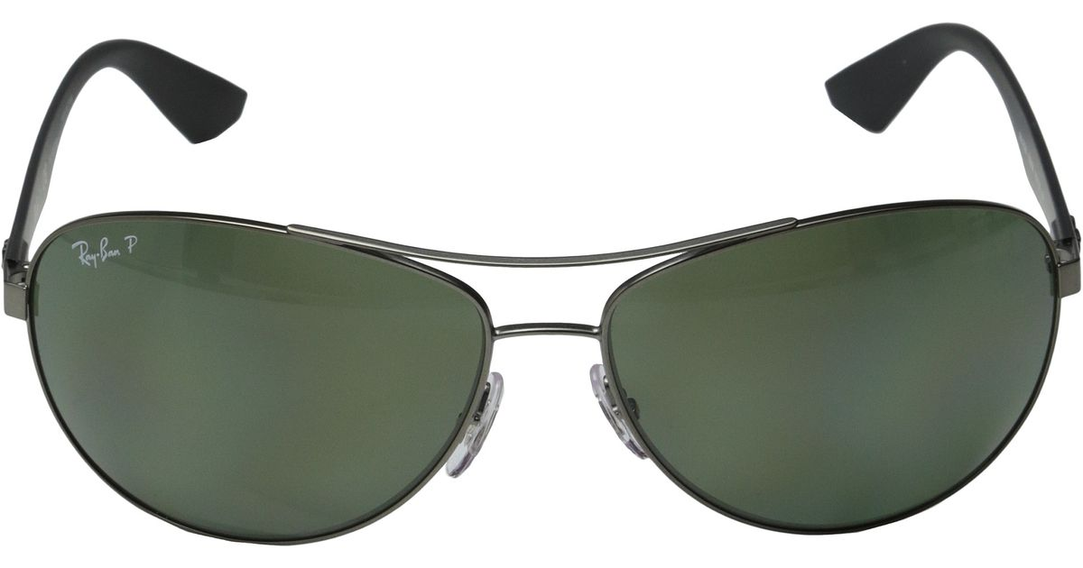 600c7e38b12 Ray-Ban - Metallic Rb3526 63mm - Lyst