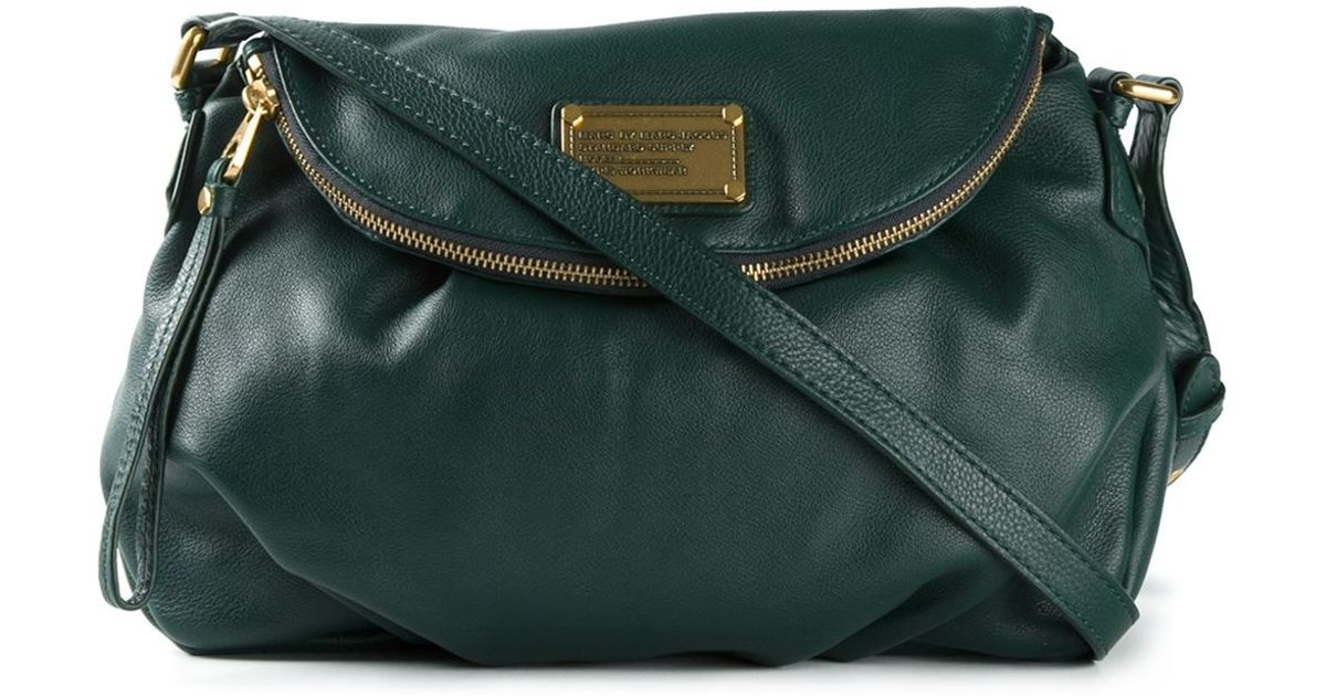 58e756b45191 Lyst - Marc By Marc Jacobs  Classic Q Natasha  Crossbody Bag in Green