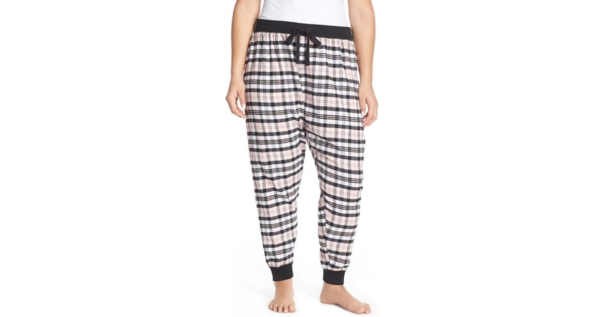 454d8eb2cf0 Lyst - Pj Salvage Flannel Pajama Pants in Pink