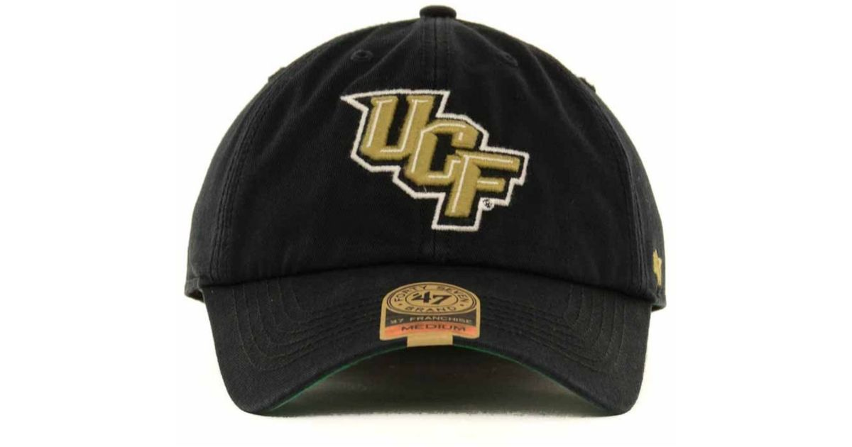 a8af2bccbb2 Lyst - 47 Brand Ucf Knights Ncaa  47 Franchise Cap in Black for Men