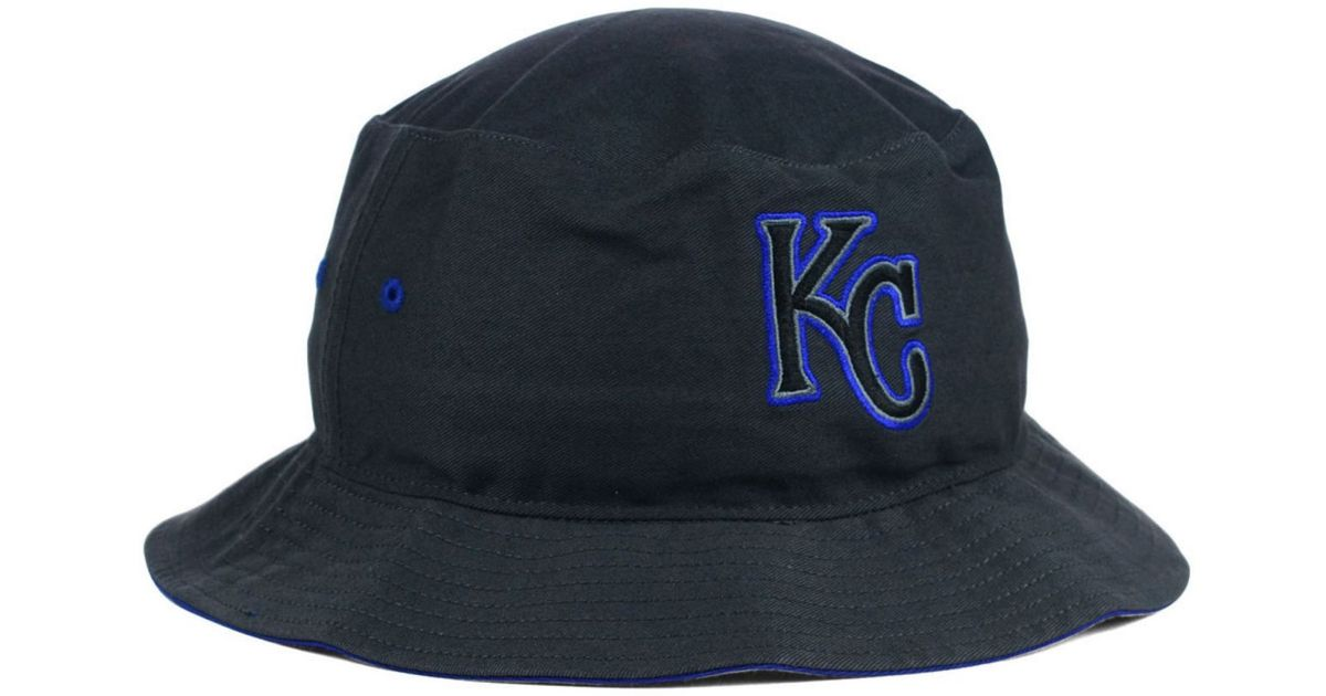 036c7becd11 ... coupon for lyst 47 brand kansas city royals turbo bucket hat in gray  ff296 d453a