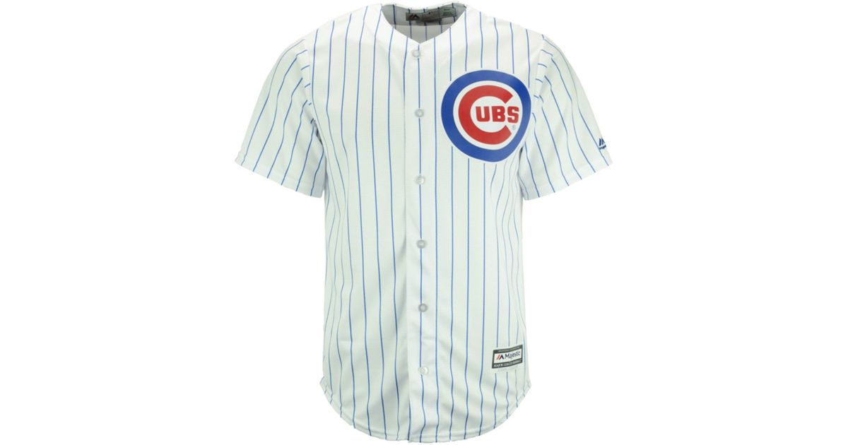 951e08a71 Lyst - Majestic Men s Addison Russell Chicago Cubs Replica Jersey in White  for Men