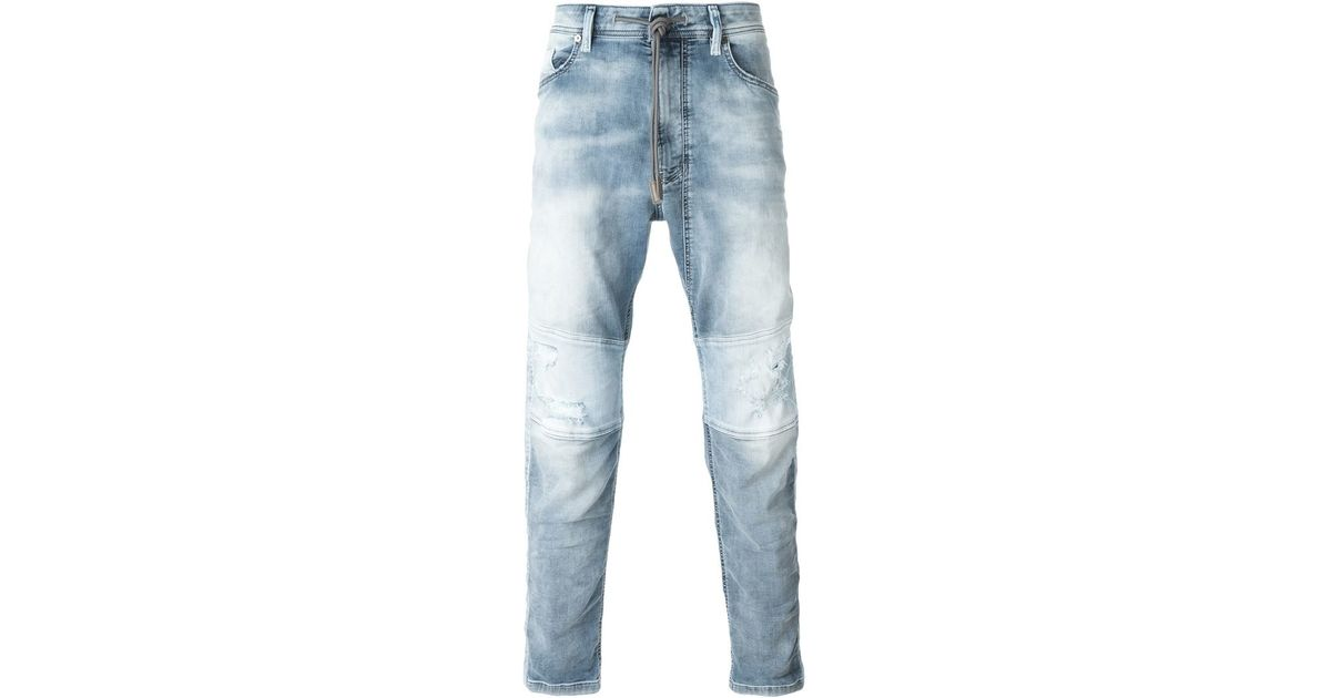 diesel 39 narrot spd 39 jogg jeans in blue for men lyst. Black Bedroom Furniture Sets. Home Design Ideas