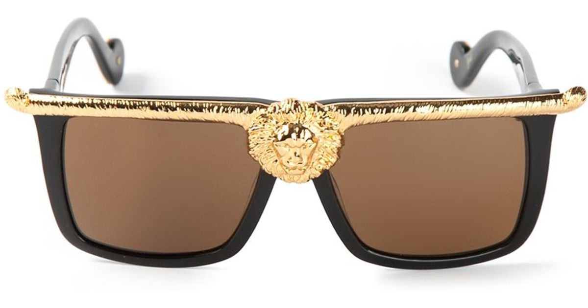 3e1c591b48c Lyst - Anna Karin Karlsson  The Lioness  Sunglasses in Black