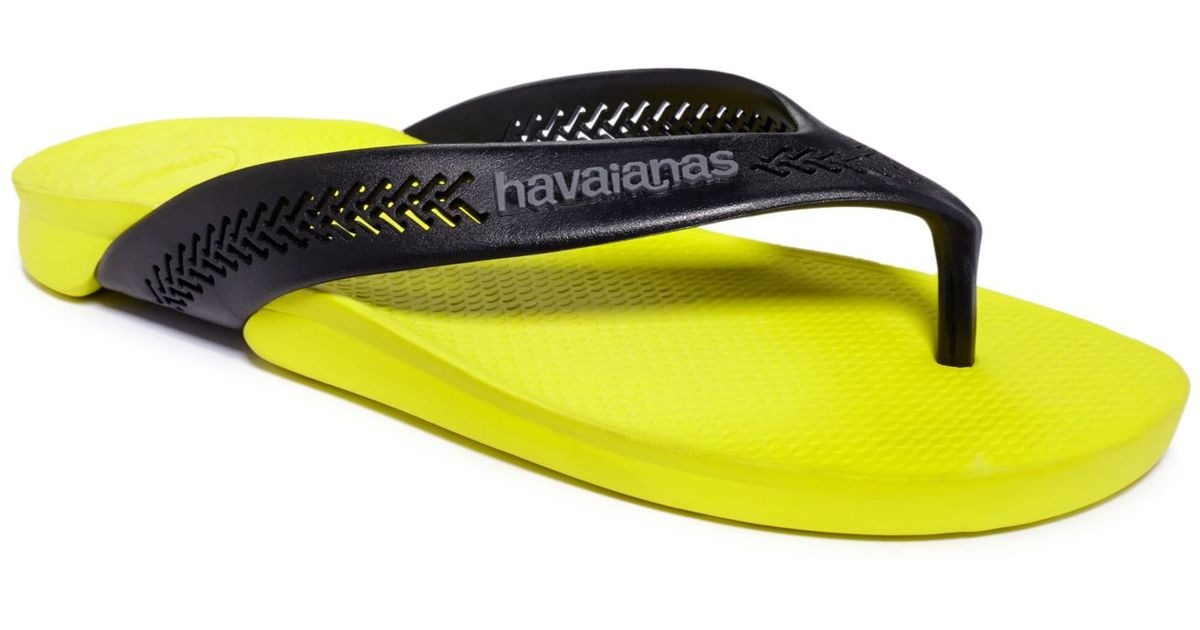 867f59b46328a8 Havaianas Wide Sandals in Black for Men - Lyst