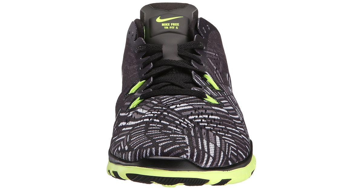 bfe7ac84e67 Lyst - Nike Free 5.0 Tr Fit 5 Prt in Black