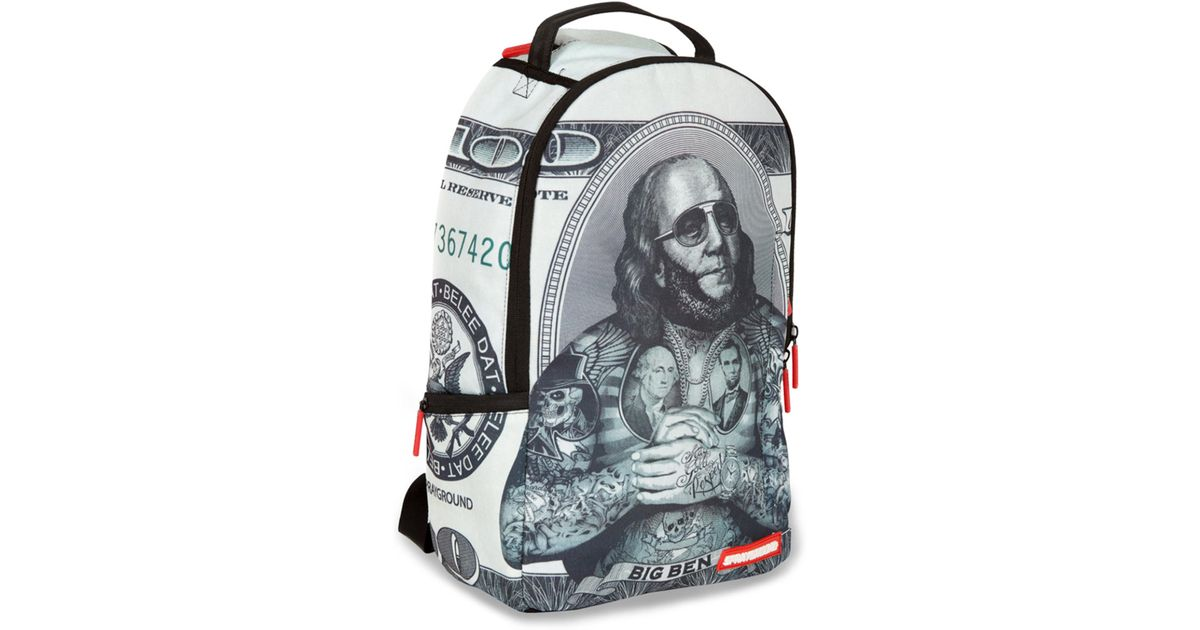 64f0cb90a4 Lyst - Sprayground The Big Ben Backpack in Gray for Men