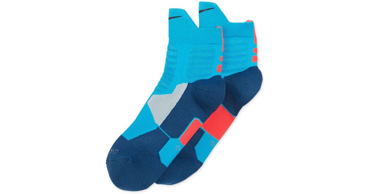 d9b6c9c332cd Lyst - Nike Kd Hyper Elite High Quarter Basketball Socks for Men