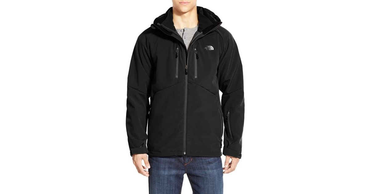 4ea4bba01f9d ... discount lyst the north face storm peak triclimate windproof water  resistant hooded 3 in 1 jacket