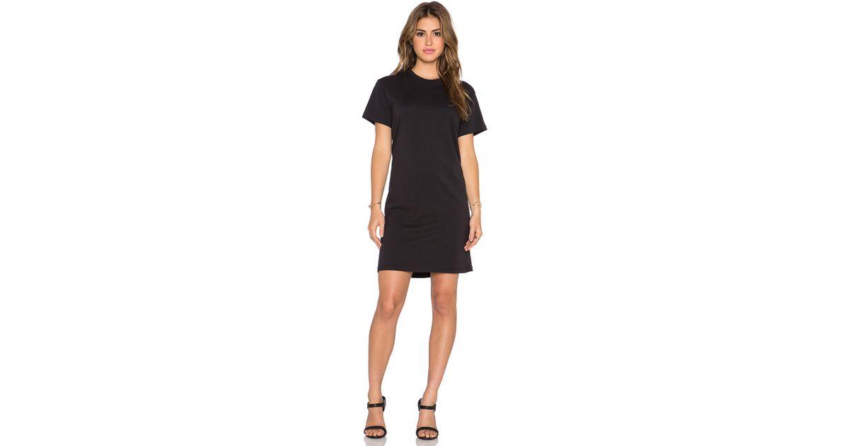 da1cc1d180821 Lyst - Marc By Marc Jacobs Favorite Tee Dress in Black