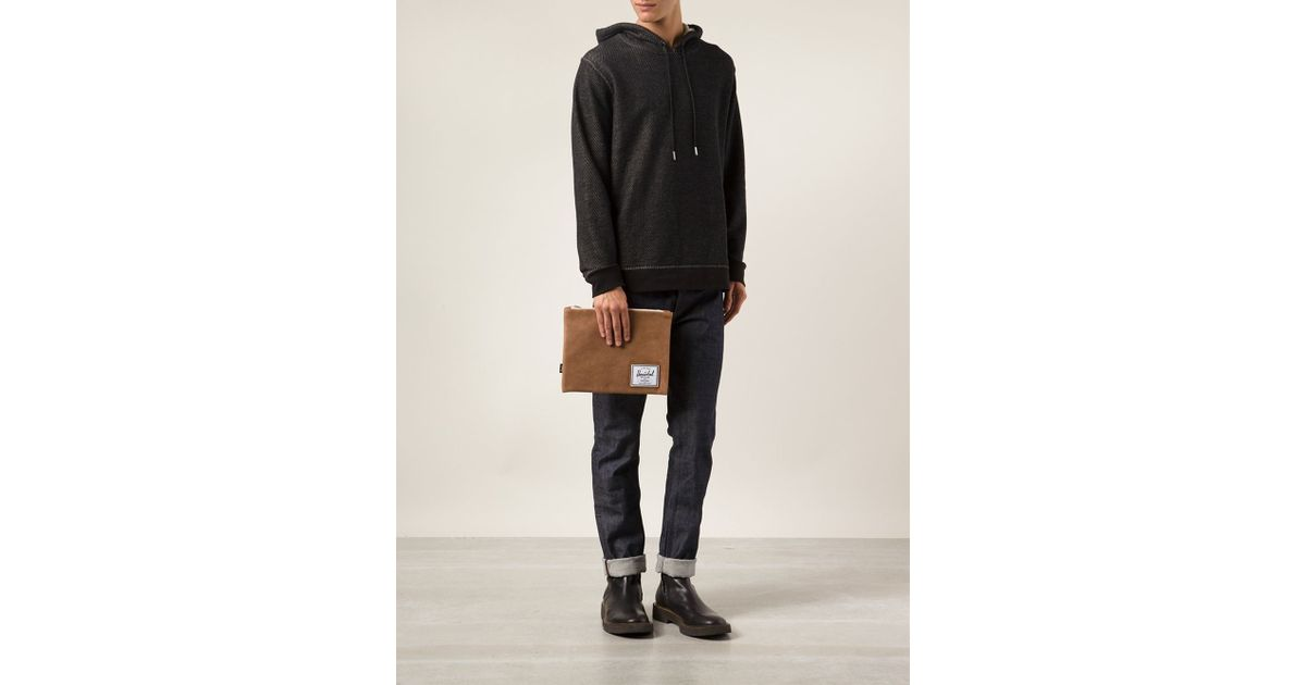 Network Large Pouch Herschel Cheap Factory Outlet New Arrival Sale Excellent Discount Clearance With Mastercard Cheap Price rjd1V