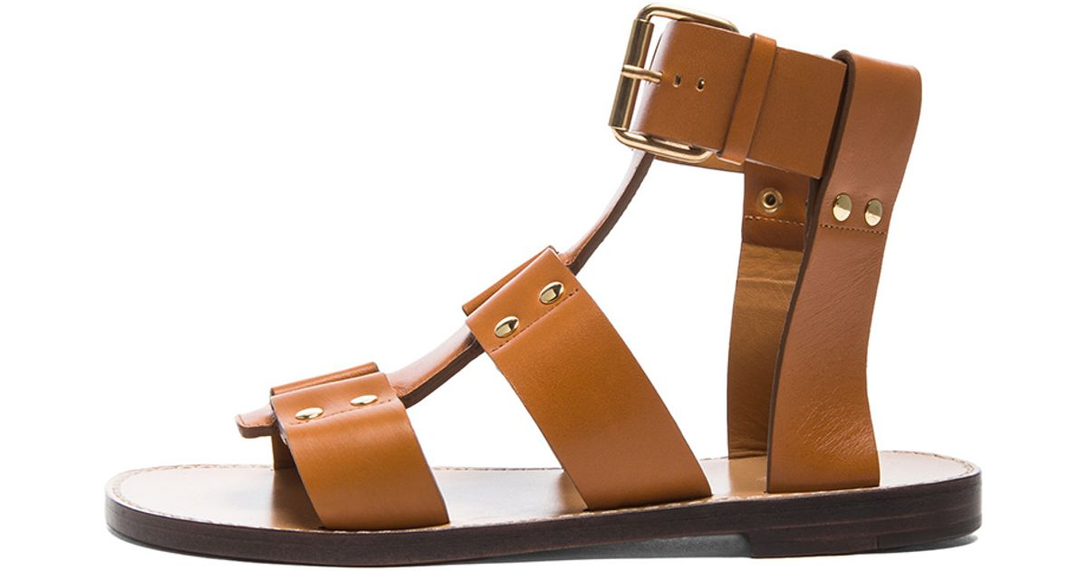 Chloé Leather Sandals BN89cNb7O