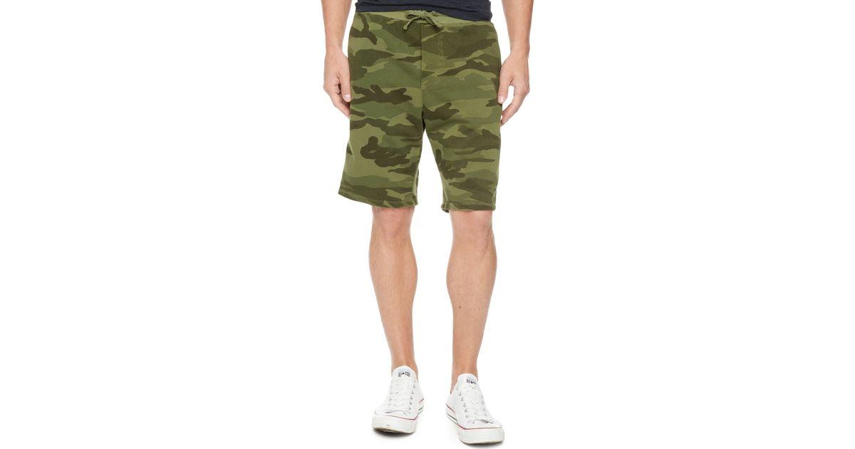 6742ae51 Lyst - Splendid Camo Shorts in Green for Men