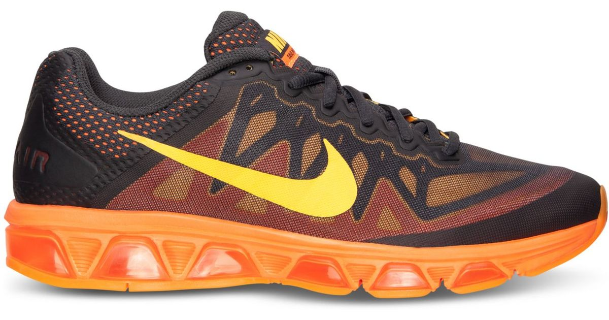 3e059889e0 ... promo code lyst nike mens air max tailwind 7 running sneakers from  finish line in orange