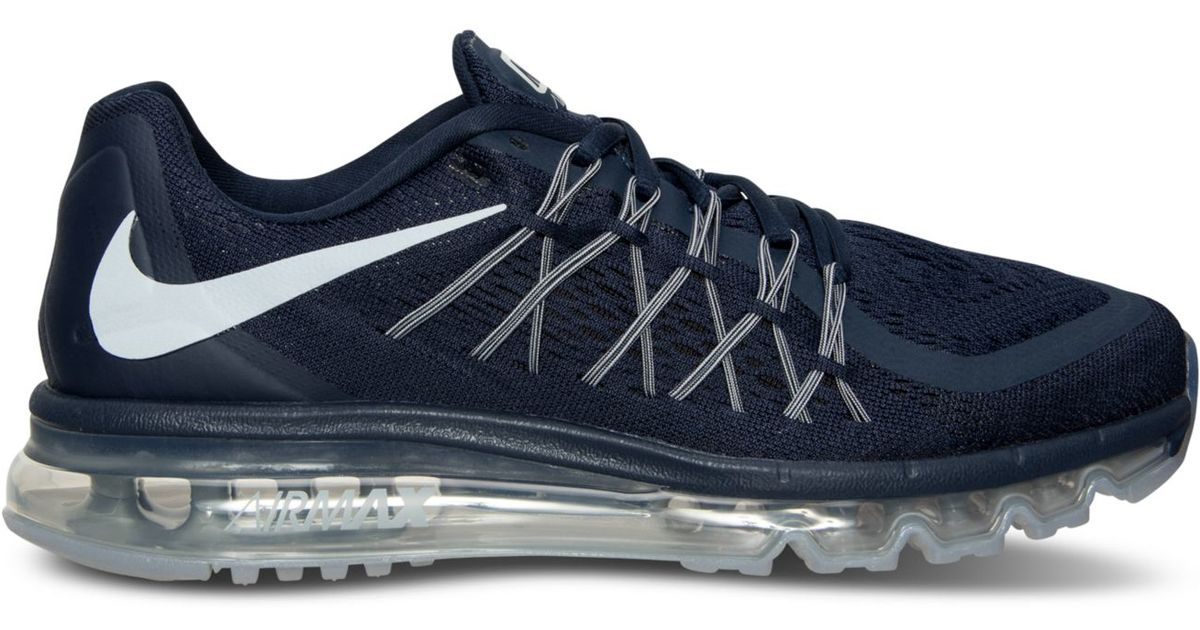 d46deec07da Lyst - Nike Men s Air Max 2015 Running Sneakers From Finish Line in Gray  for Men