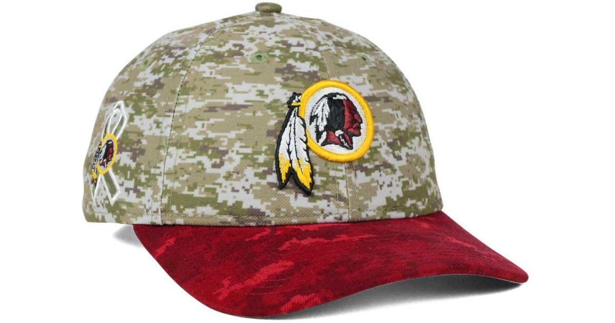 f1136a674 Lyst - KTZ Women s Washington Redskins Salute To Service 9twenty Cap in  Green for Men