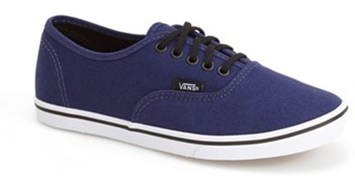 vans low pro blue