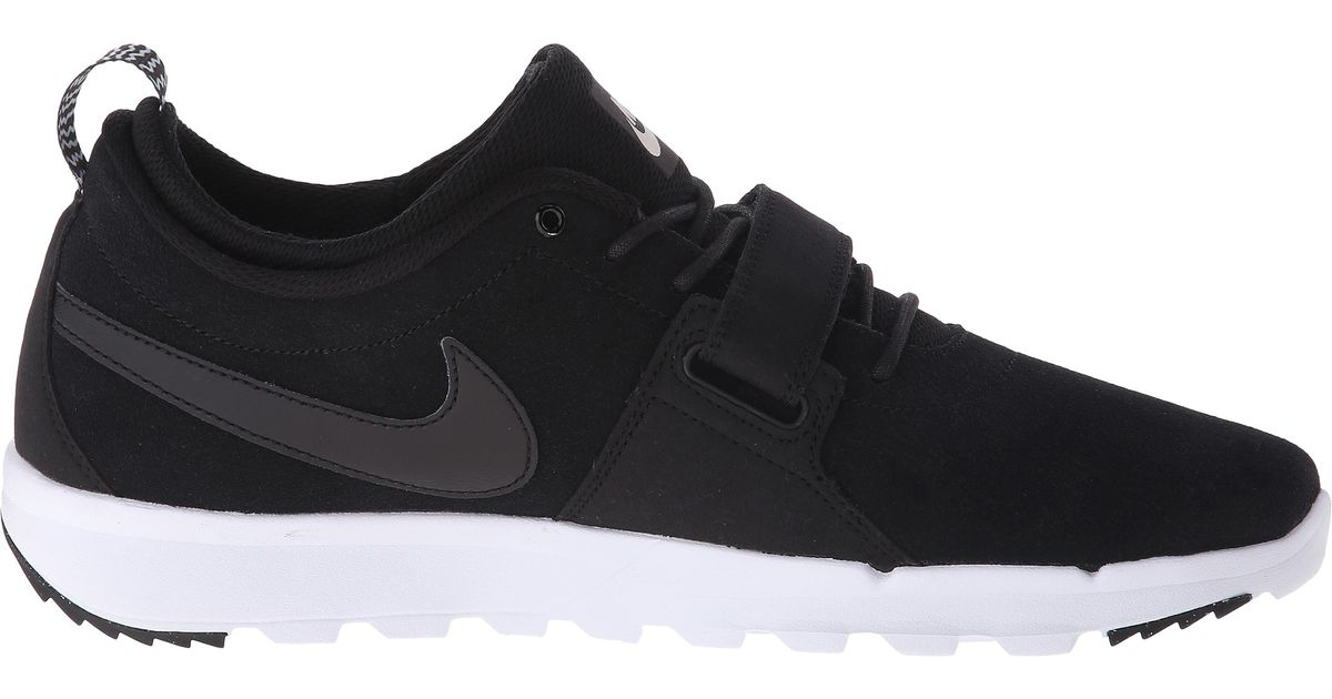 huge selection of 25ad9 40c2c Lyst - Nike Trainerendor Leather in Black for Men