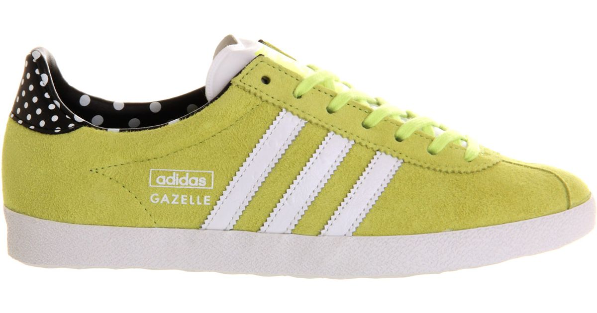cheap for discount 27150 bf579 Lyst - adidas Gazelle Og W in Yellow