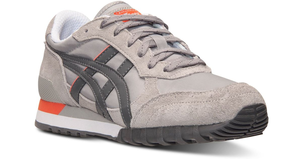 5c4a74705 Asics Women s Onitsuka Tiger Colorado 85 Casual Sneakers From Finish Line  in Gray - Lyst