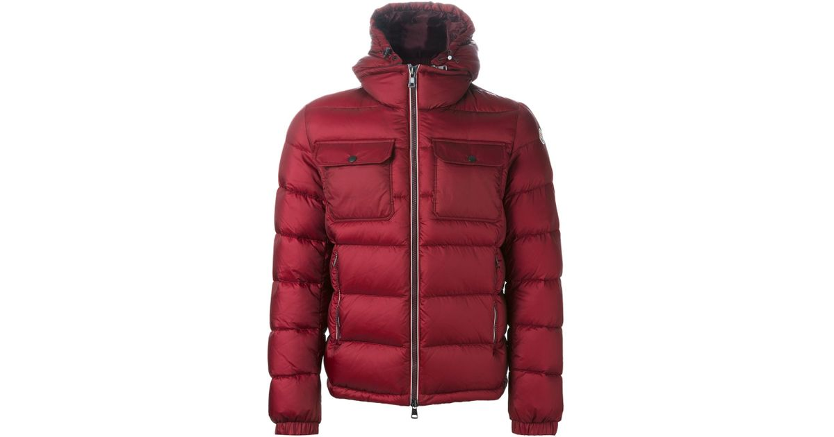 moncler zin red