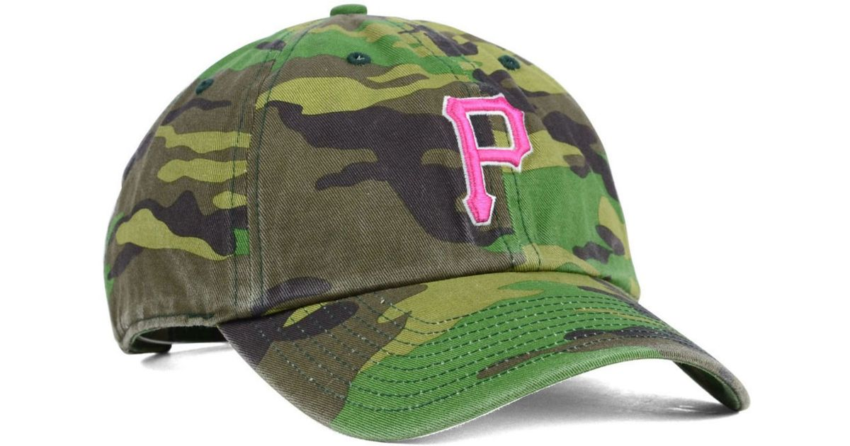competitive price c43a3 7db72 47 Brand Women s Pittsburgh Pirates Clean Up Cap in Green - Lyst