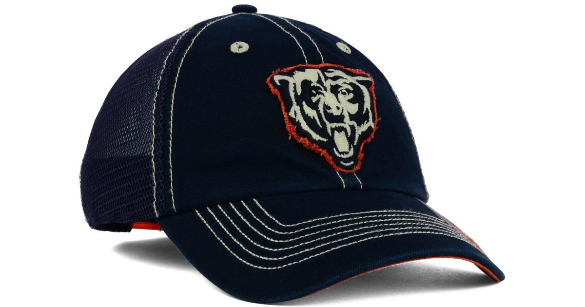 f6bb7ed27469c ... usa lyst 47 brand chicago bears turner mesh clean up cap in blue for men  81301