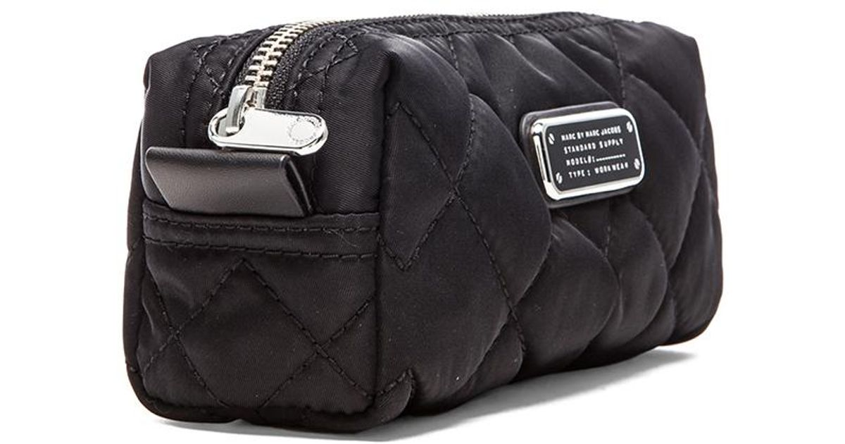 4b3d5a628608 Marc Jacobs Black Quilted Cosmetic Bag - Best Quilt Grafimage.co