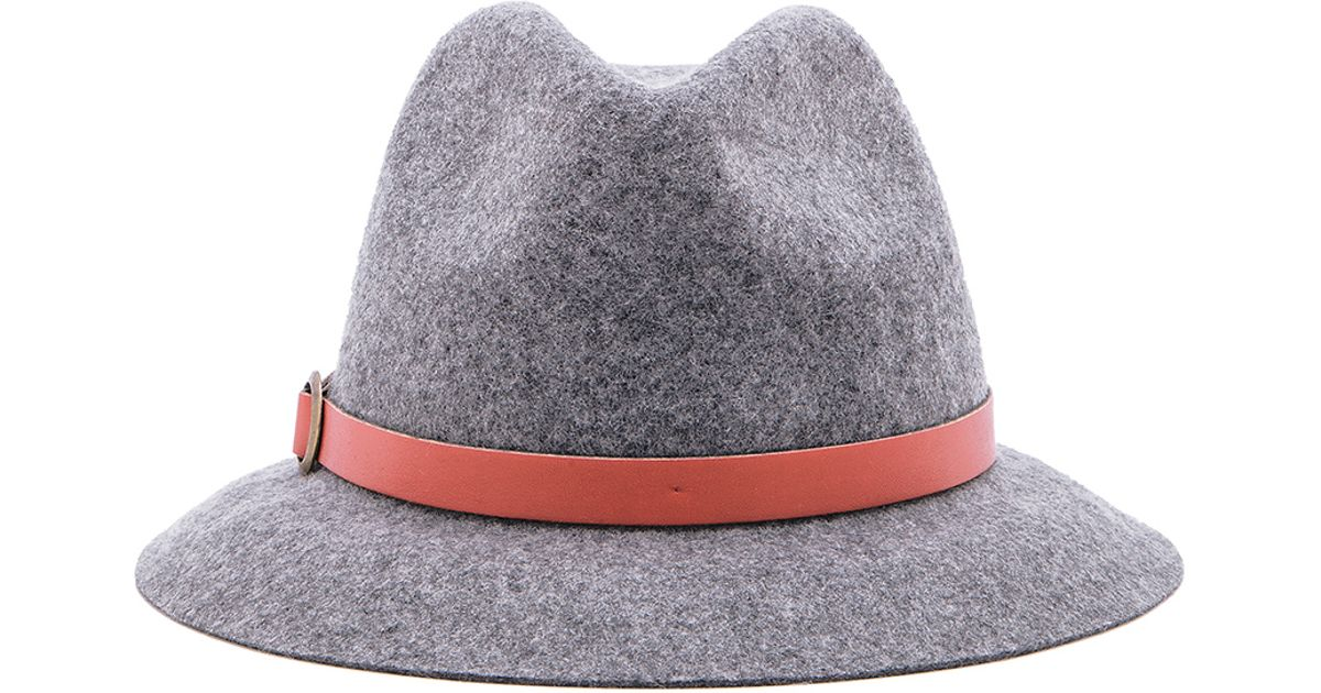 super popular 177e7 6b6ef Genie by Eugenia Kim Jordan Hat in Gray - Lyst