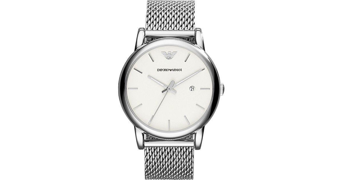 Emporio Armani Ar1812 Luigi Stainless Steel Chronograph Watch ... 2e6085b16