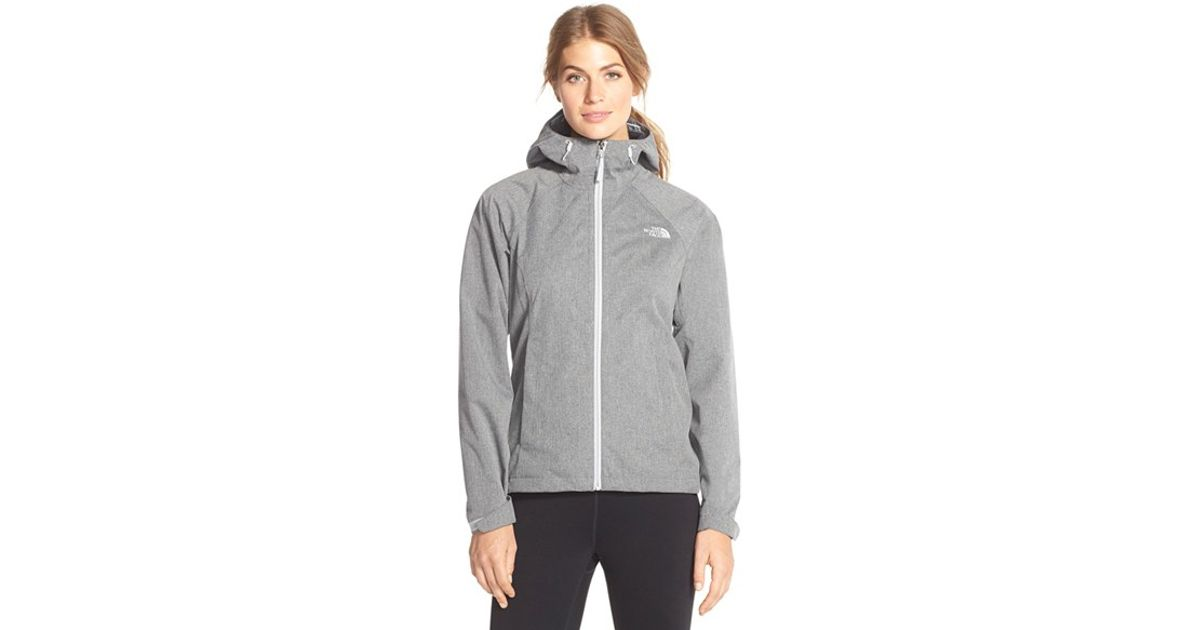 e67e74a7b196 Lyst - The North Face  Magnolia  Waterproof Rain Jacket in Gray