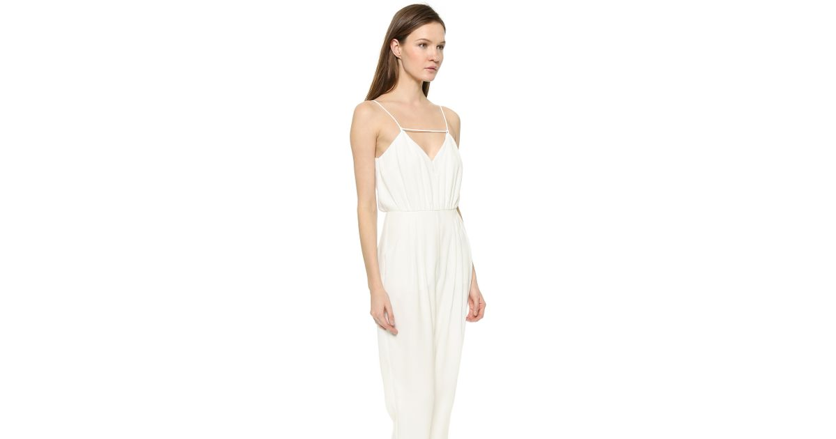 596c088f49e0 Finders Keepers The Someday Jumpsuit in White - Lyst