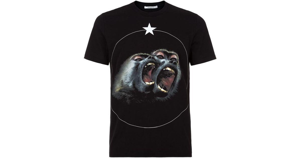 375a5bf8b Givenchy Monkey T Shirt Camo   The Art of Mike Mignola