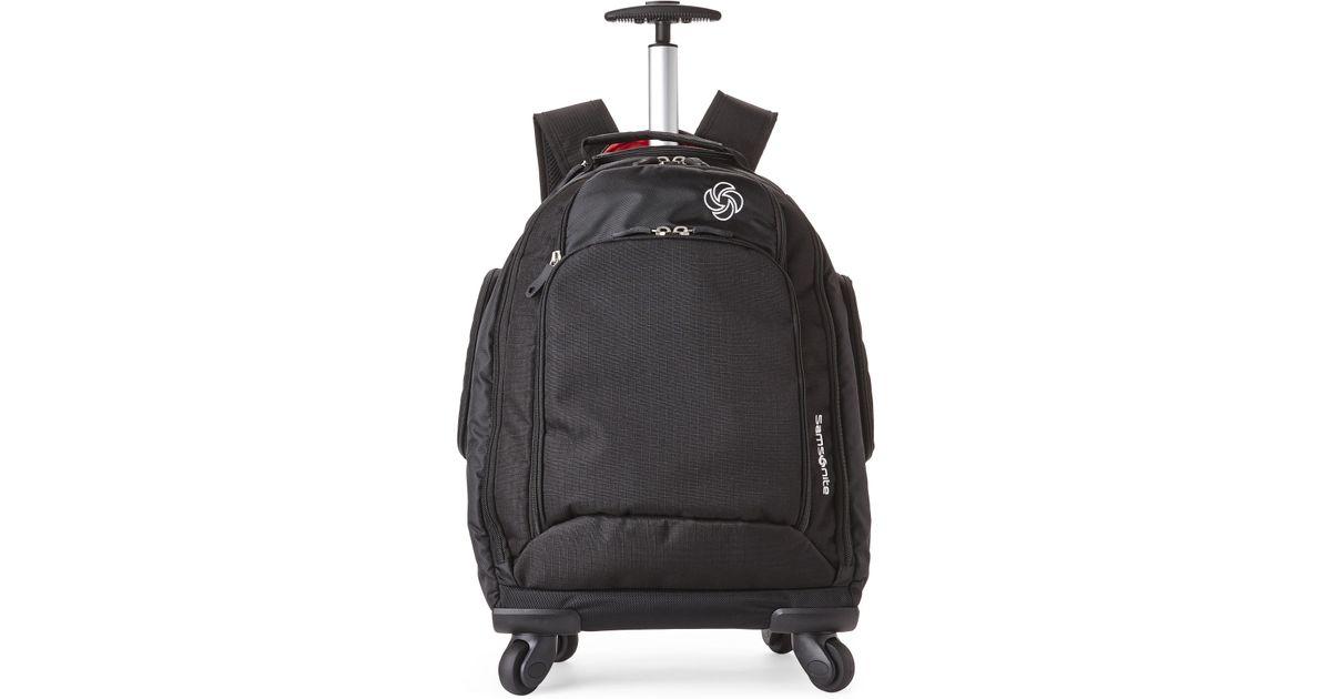 a68ecabd7d372 Lyst - Samsonite Mvs Spinner Backpack in Black for Men
