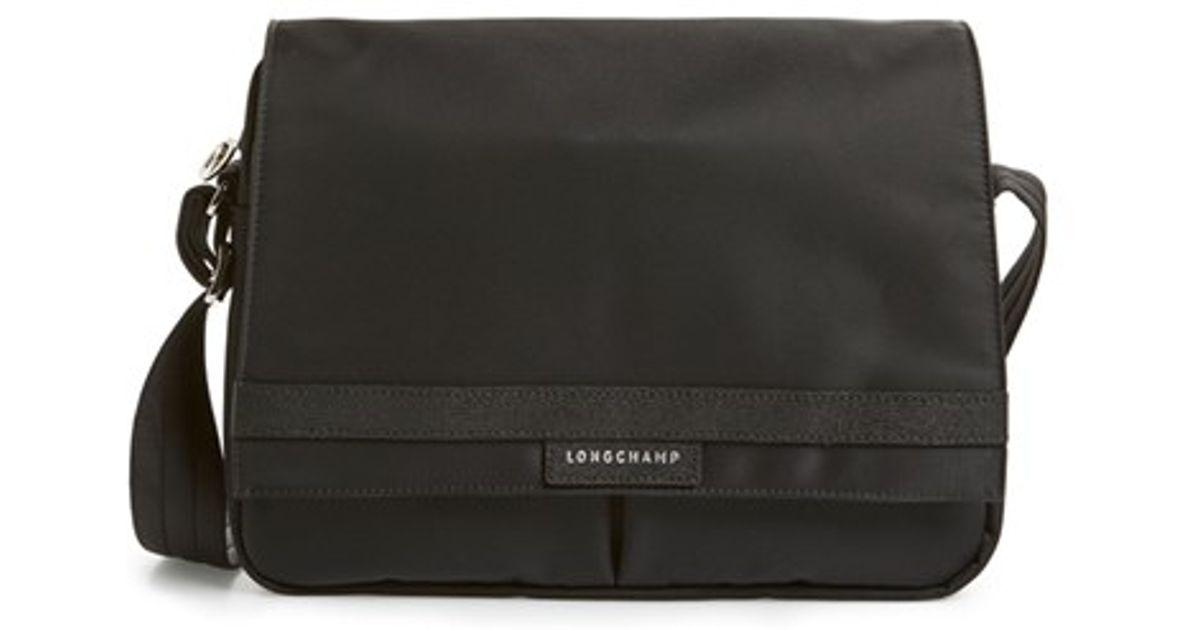 87e2baf8d21e Lyst - Longchamp  le Pliage Neo  Messenger Bag in Black for Men