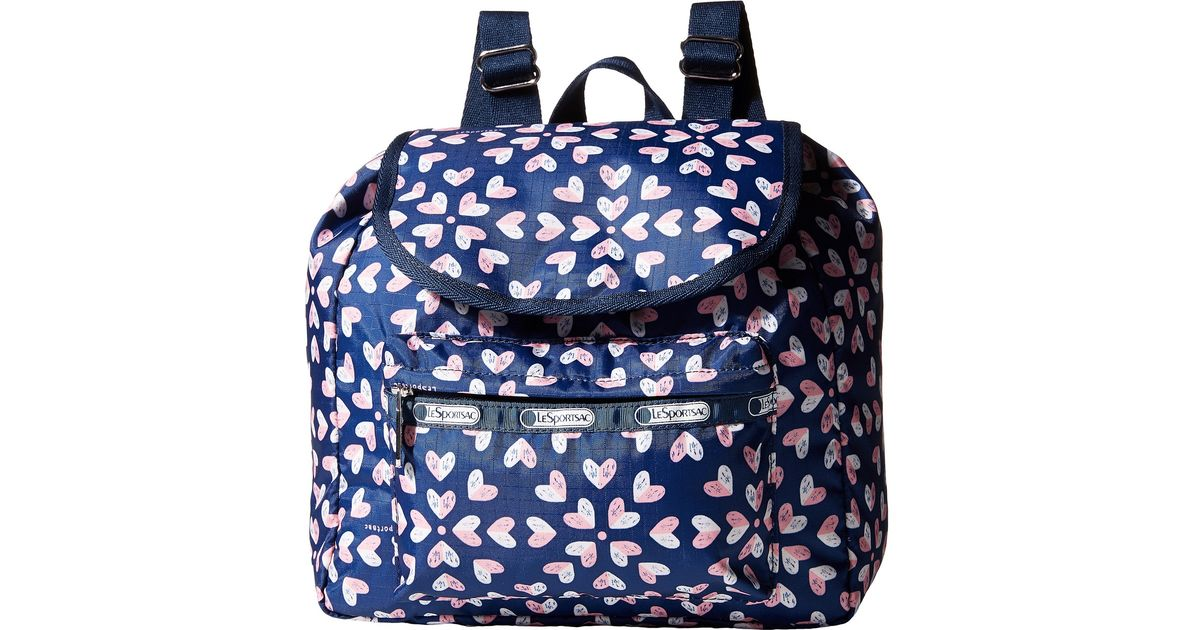 8cd42c88574 Lyst - LeSportsac Small Edie Backpack in Blue