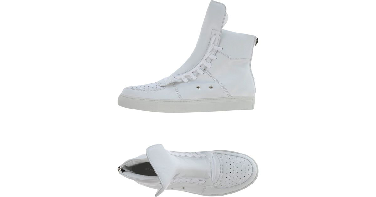 5a845508eb1e99 Lyst - Kris Van Assche High-tops   Trainers in White for Men