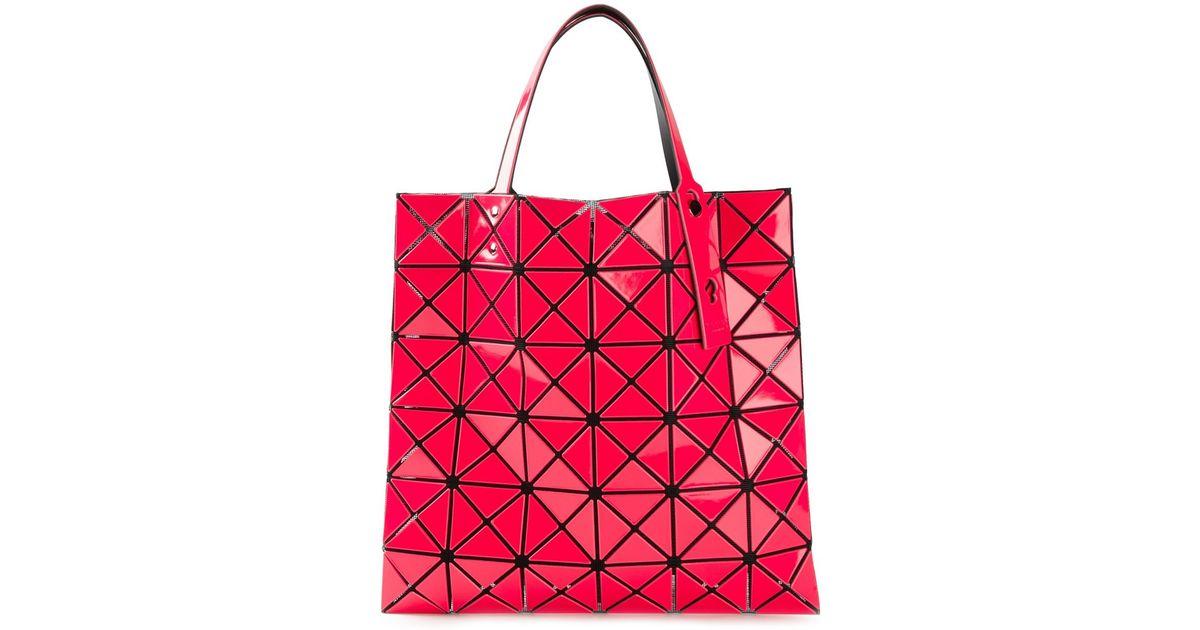 ysl shoulder bag price - Bao bao issey miyake Geometric Pattern Tote Bag in Pink (pink ...