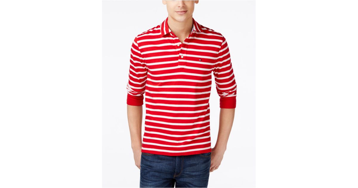 Mens red white striped shirt photo album best fashion for Mens red and white striped dress shirt