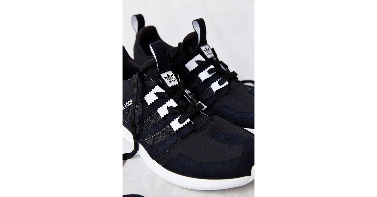 wholesale dealer 5dfac 7da3a adidas Originals Sl Loop Running Sneaker in Black for Men - Lyst